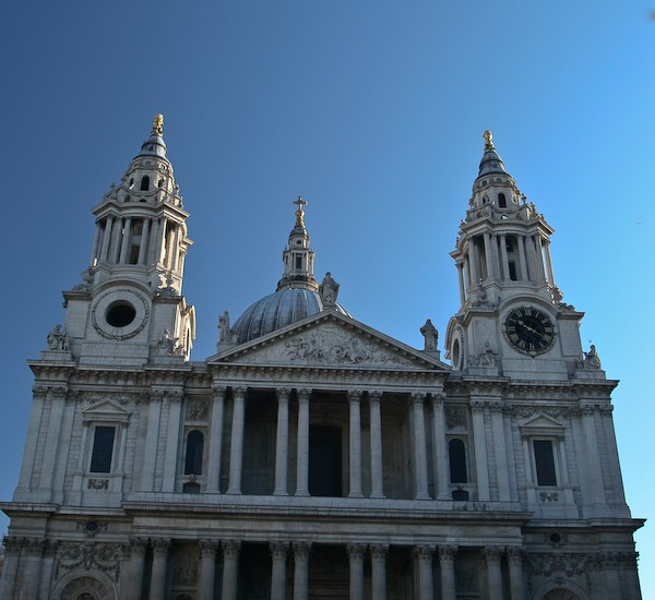 St. Paul's Cathedral, London, UK.