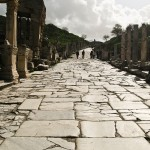Road at Ephesus.