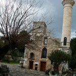 Mosque, now exhibit hall, at Bodrum castle museum.