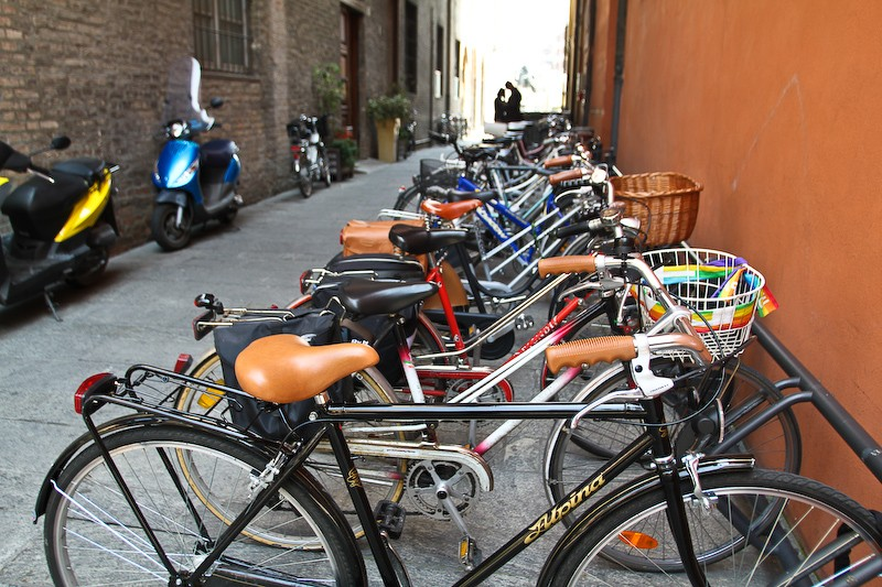 Bicycles are Piacenza.