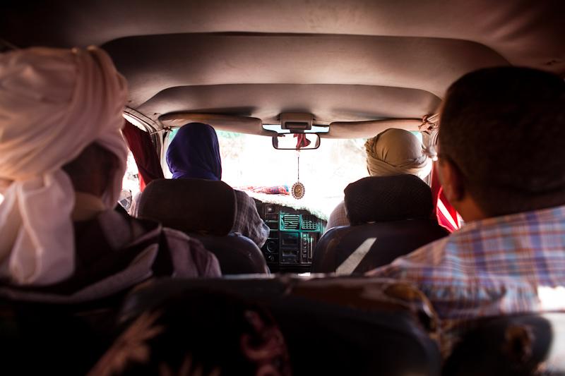 Morocco grand taxi.