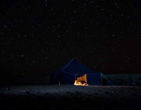 "Some night photography. I ""light painted"" the tent with my LED flashlight. This was a 30 second exposure."