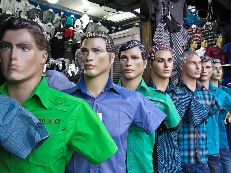 Checkout the mannequins of Shiraz. This wasn't even the best of them. Lots have real eye lashes, eye liner and hair styles ranging from the 1950's greaser to 1990's raver.