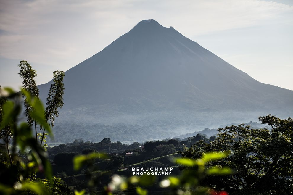 Volcan Arenal, arguably Costa Rica's most famous place.