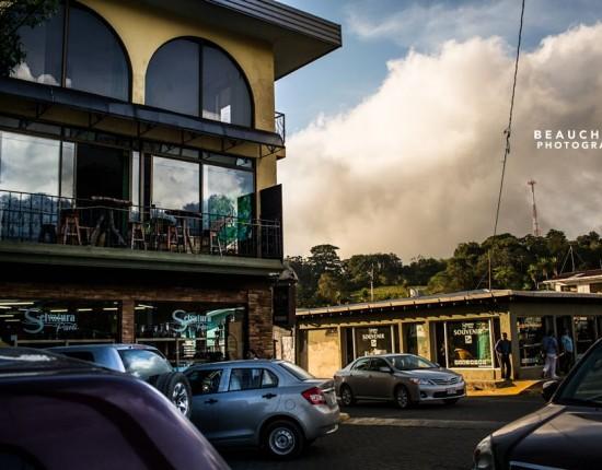The streets of Santa Ellena.