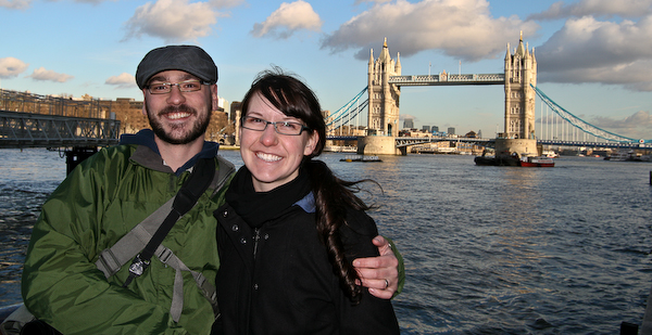 Tower Bridge in London, Chris and Laura-7858