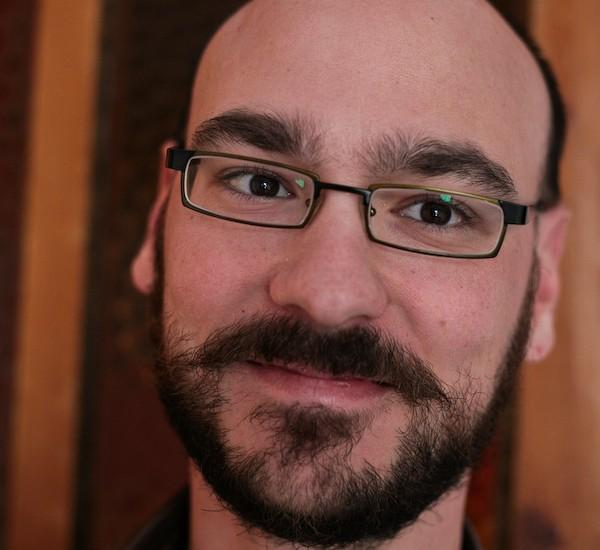 Chris, goodbye beard, Fethiey, Turkey-9790