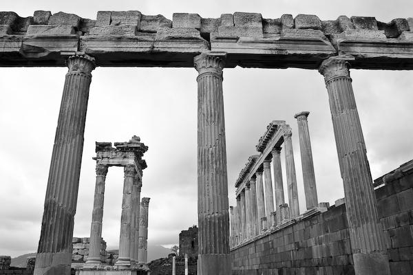 Acropolis at Bergama.