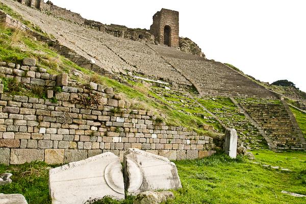 Acropolis theatre at Bergama.