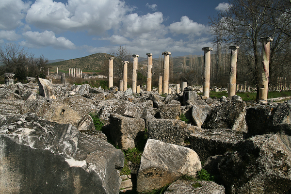 Ancient site of Afrodisias.