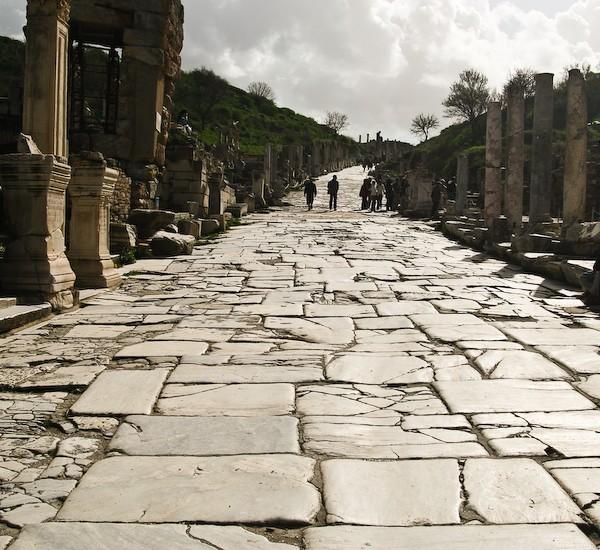 Road at Ephesus.