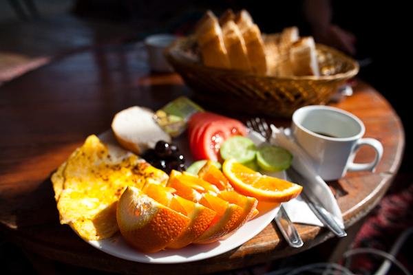 Olympos breakfast