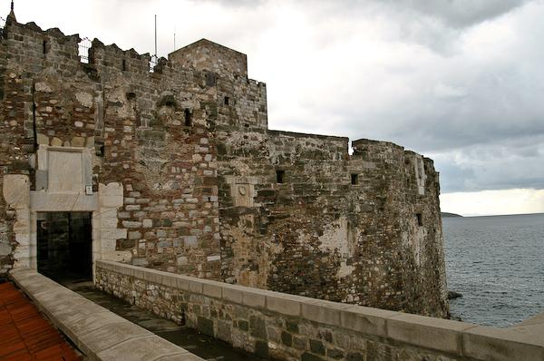 Bodrum castle museum.