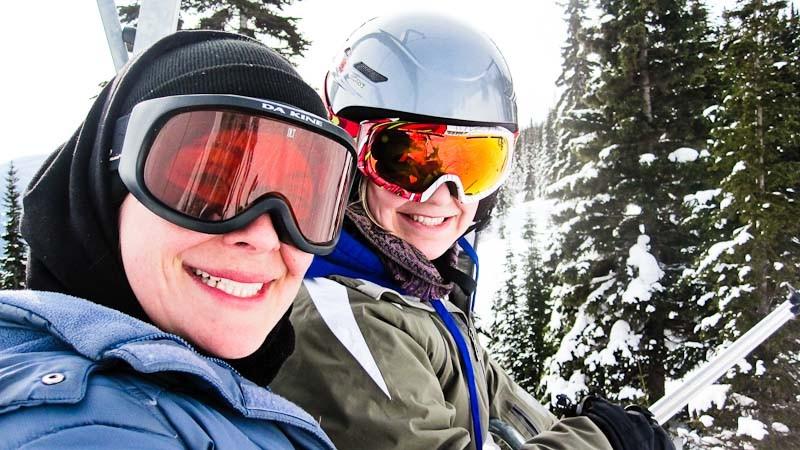 Powder King, Skiing-4271