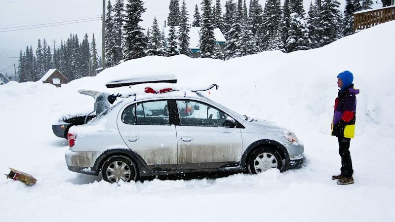 Powder King, Skiing-4310