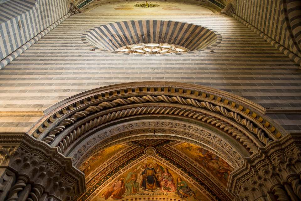 Orvieto cathedral.