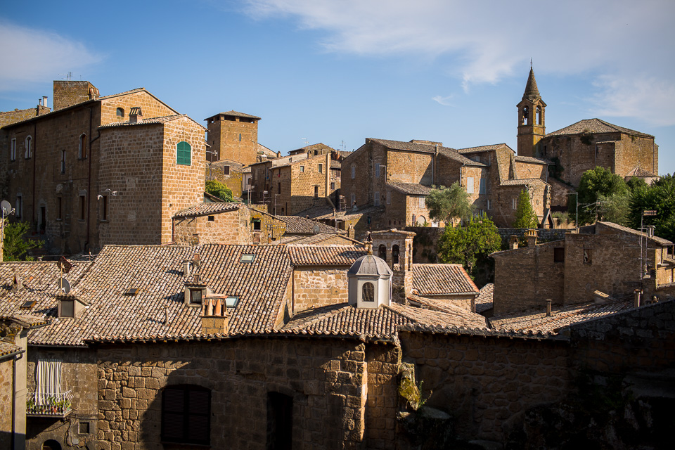 Orvieto was an Etruscan site before it was a Roman town, Medieval city, Renaissance City state, or modern tourism Mecca.